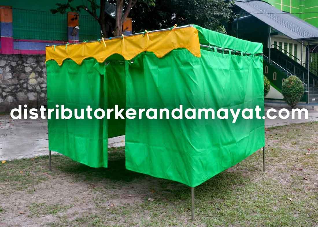 Tenda Pemandian Mayat yang Berfungsi Outdoor