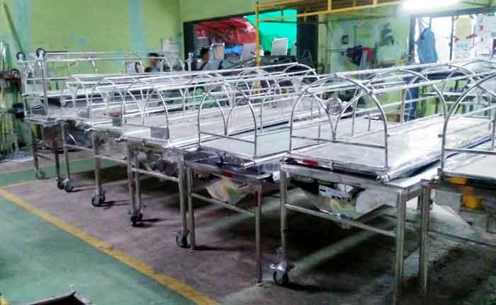 Set Keranda Pemandian Jenazah di Bogor
