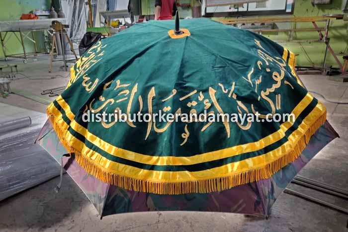 Kain Payung Keranda